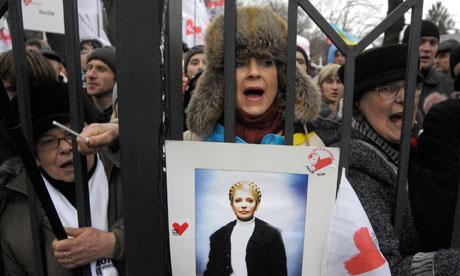 Yulia Tymoshenko protest