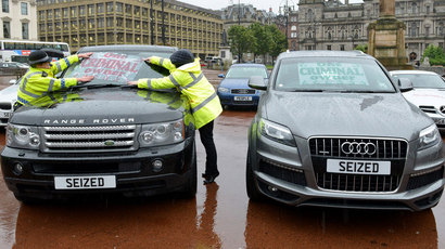 162245-cars-seized-by-police-on-display-in-glasgow-quality-image